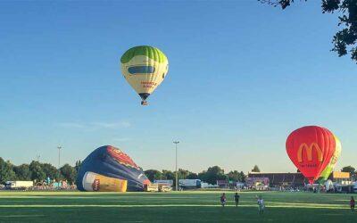 Radio Meteor live op AVS Balloonmeeting